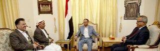 المشاط يلتقي رئيس مجلس النواب ورئيس الوزراء
