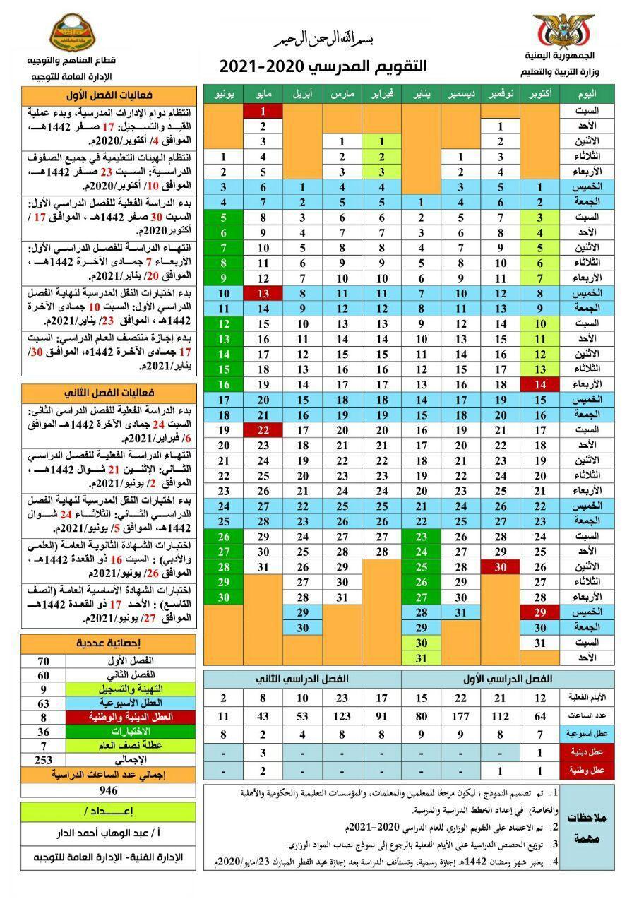 صنعاء وزارة التربية تحدد موعد بدء العام الدراسي الجديد نص القرار التقويم نيوز فور مي